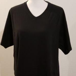 2 mens Haines v-neck tees